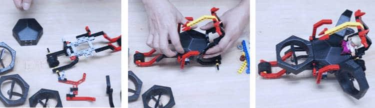 Un drone à monter, piloter et programmer soi-même, même pour les novices