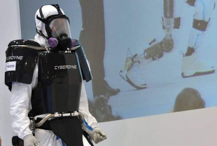 Un exosquelette pour démanteler Fukushima sans risque