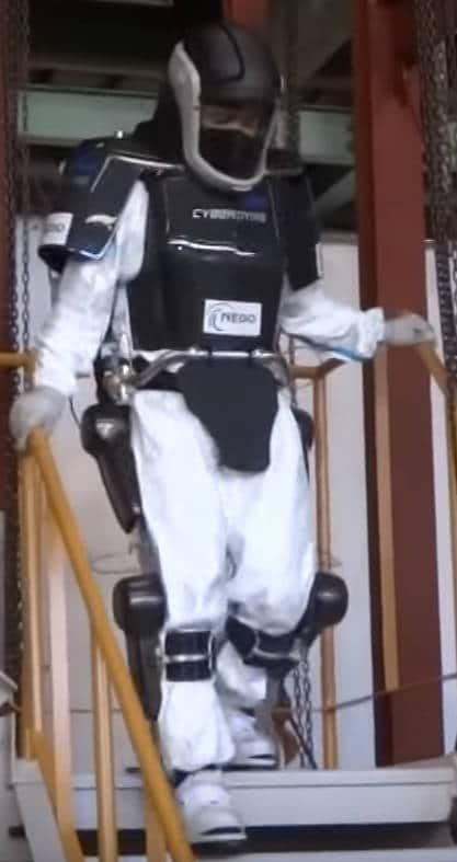 La technologie HAL de l'exosquelette est directement reliée au cerveau humain