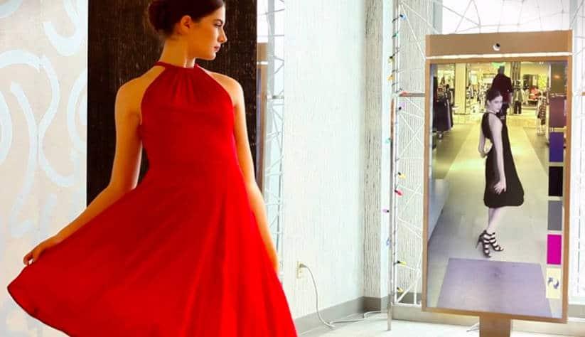 Des caméras 3D intégrées au miroir en réalité mixte