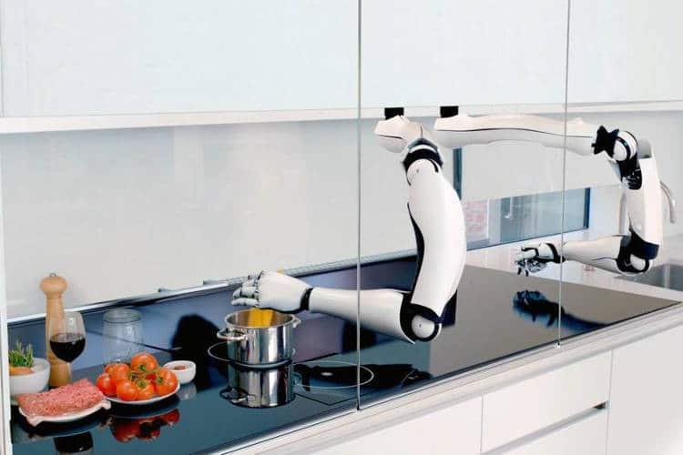 Le robot cuisinier est capable d'effectuer plus de 2 000 recettes