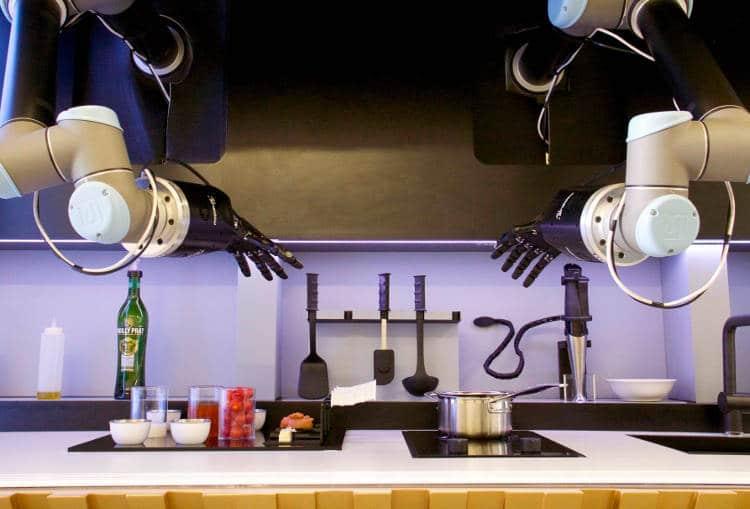 Un chef cuisinier dans ma cuisine ? Oui, un robot cuisinier chef !