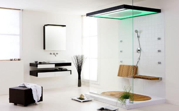 maison du futur une salle de bain disco funk m decin et conomique. Black Bedroom Furniture Sets. Home Design Ideas