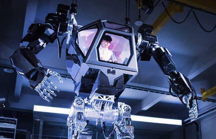 Un nouveau robot géant et effrayant qui ressemble à un film de science-fiction