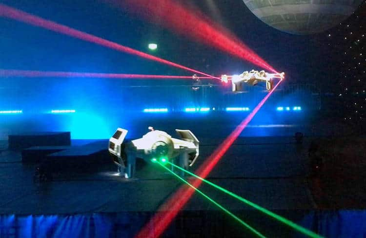 Plus fort que la course de drones: le combat de drones