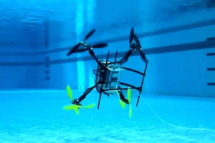 drone naviator pour explorer les fonds sous-marin