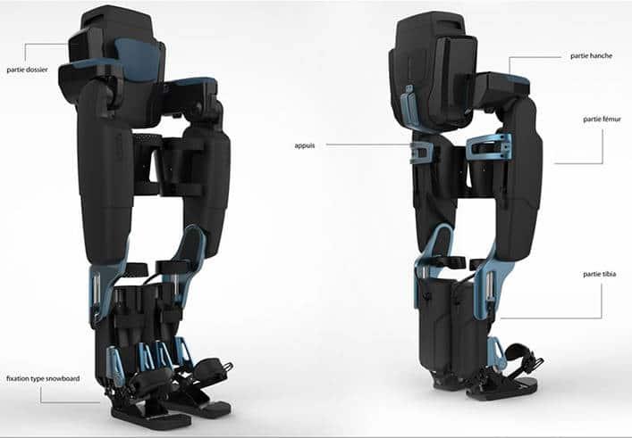 Comment fonctionne un exosquelette ?
