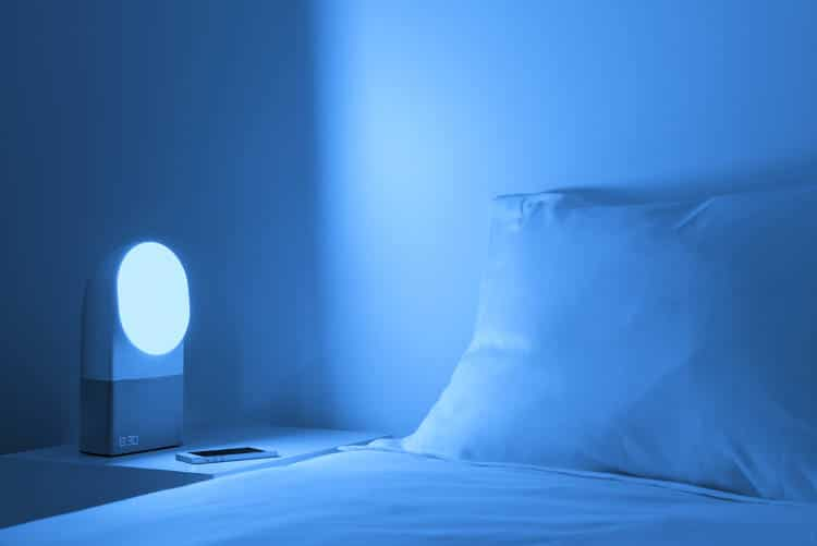 Prise en main du réveil connecté Aura