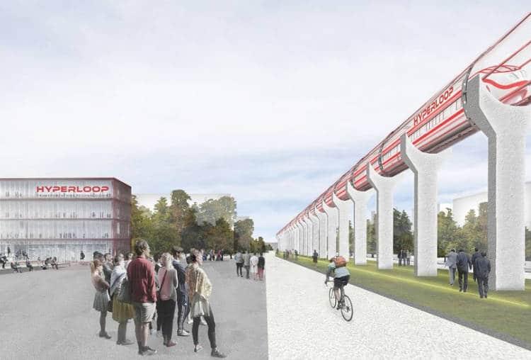 L'hyperloop d'Elon Musk va s'implanter à Toulouse!