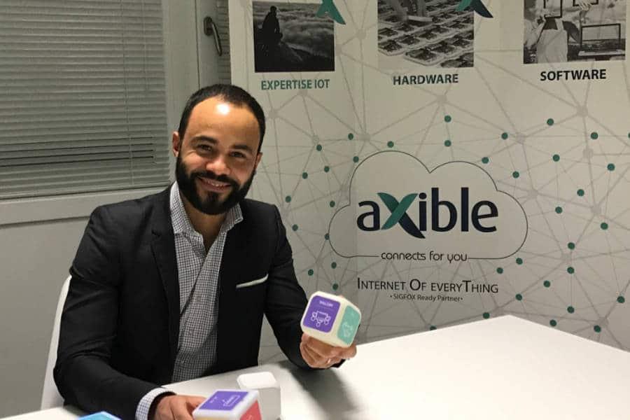 CES 2017 : le Cube connecté QuB pour les entreprises