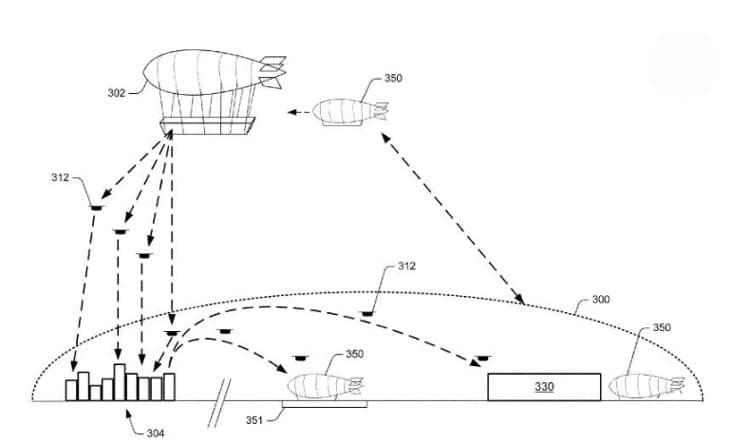 drone livraison colis Amazon