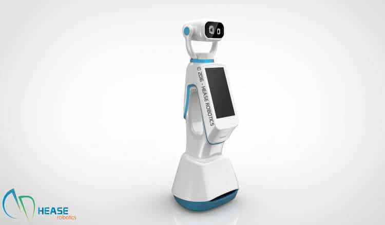 Hease, le robot d'accueil concurrent de Pepper