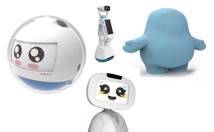 Cette année, qui sont les robots de compagnie made in France du CES Las Vegas?