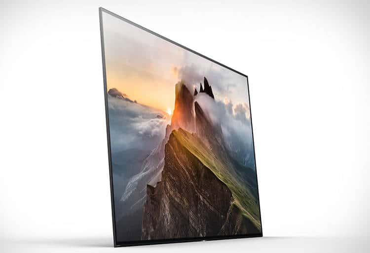 téléviseur sony Bravia A1E OLED Sony propose un écran vibrant