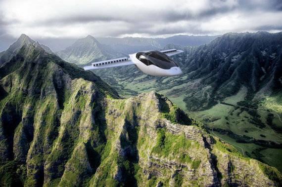 Les voitures volantes seront disponibles au grand public dès 2020
