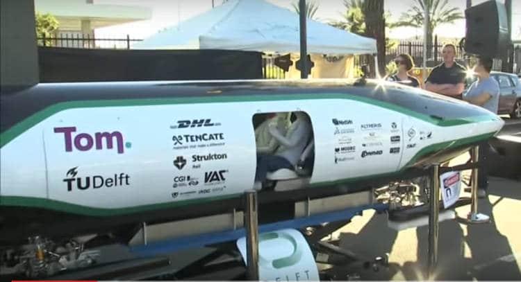 En immersion dans un tube de l'Hyperloop: la chouette vidéo qui montre les premiers tests grandeur nature