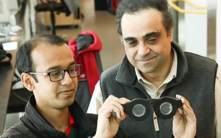 Une paire de lunettes intelligente qui focalise en temps réel sur les objets grâce à des capteurs intégrés