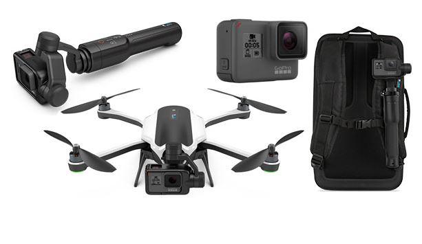 Le drone Karma revient et c'est une petite bombe assortie de la caméra Hero 5
