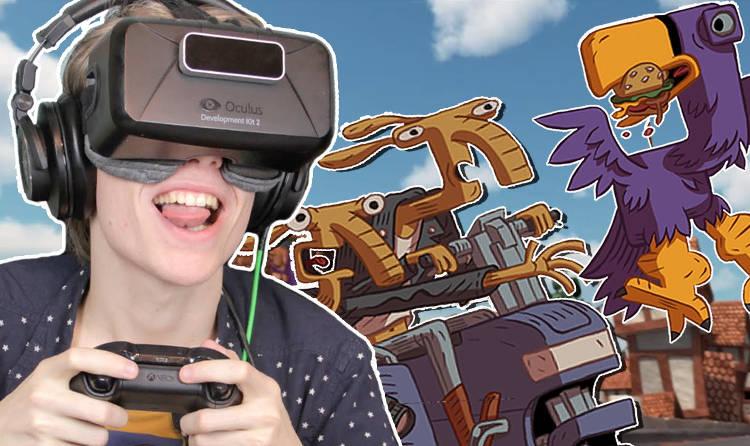 birdy king land 12 Une ballade dans un side-car avec un extra-terrestre, tout est possible en réalité virtuelle !