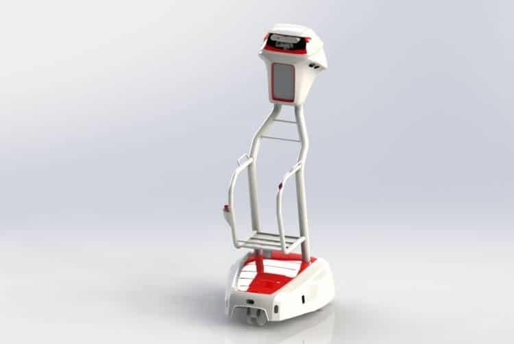 Le robot chariot WiiGo va transformer nos courses au supermarché