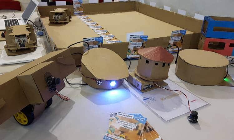 robots izimakers carton