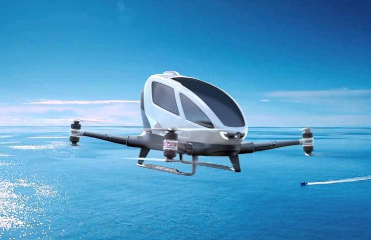 Dubaï développe une flotte de taxi-volants autonomes pour juillet 2017!