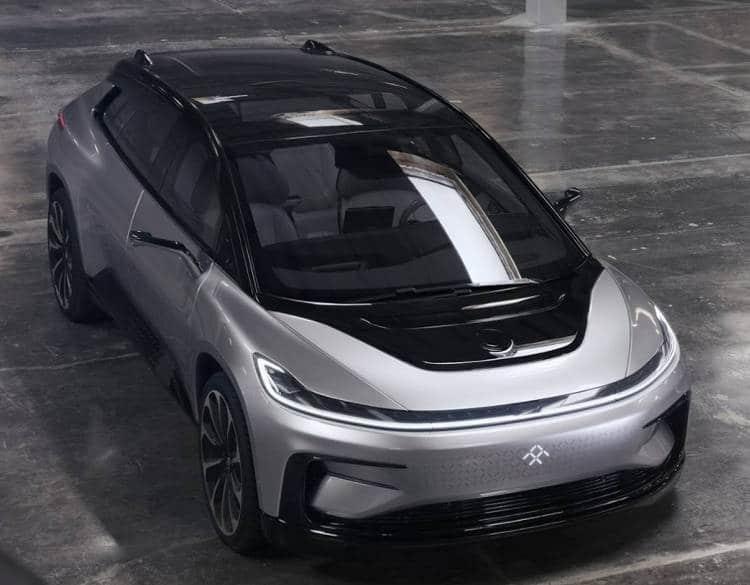 Faraday Future a présenté sa nouvelle voiture autonome concurrente de Tesla