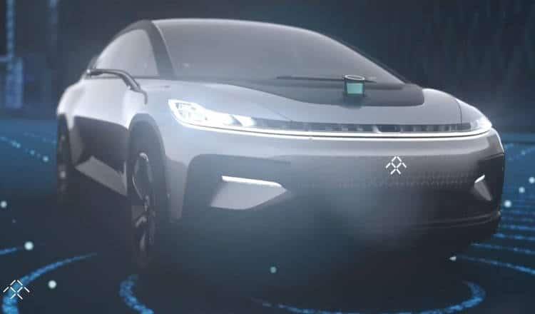 Faraday future ff91 un véhicule autonome plus puissant que la Supercar de Ferrari