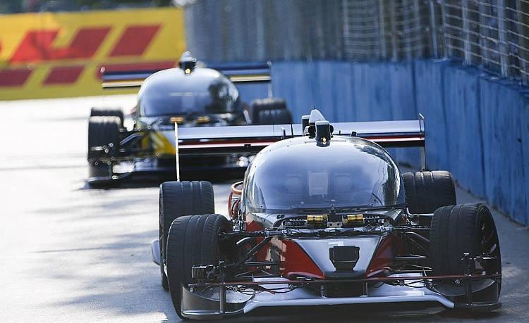 Après la Formule1, la Formule Epour des compétitions de voitures autonomes!
