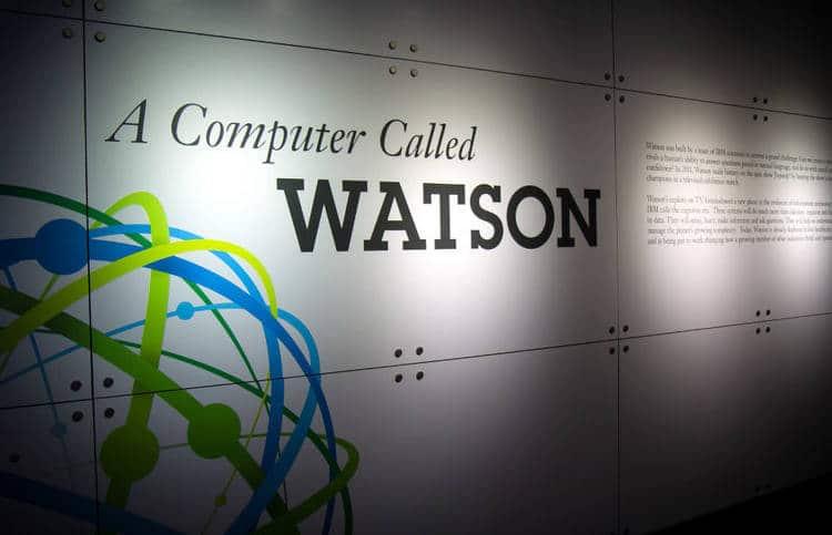 À Munich, le programme d'intelligence artificielle Watson d'IBM se dédié aux objets connectés