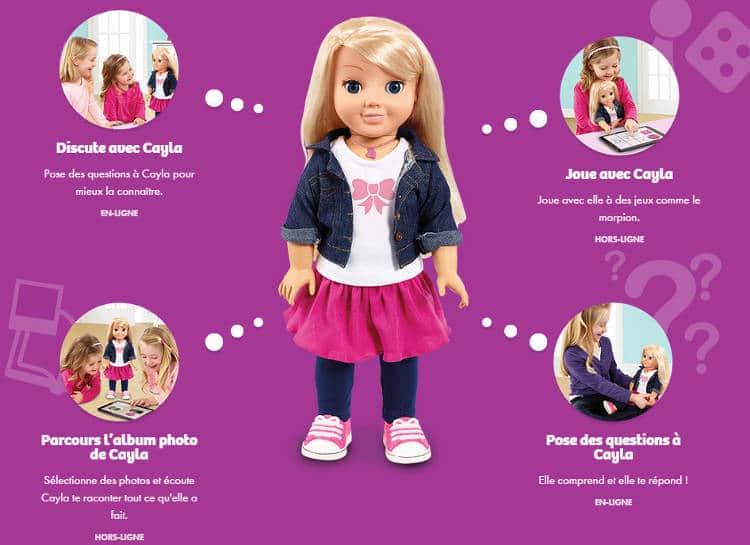 Qu'est-ce qu'une poupée connectée ?