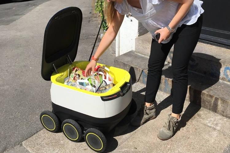 Amis des villes, vous croiserez bientôt les robots livreurs de Starship Technologies !