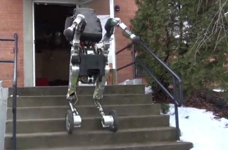 Handle, le nouveau robot chien de Boston Dynamics