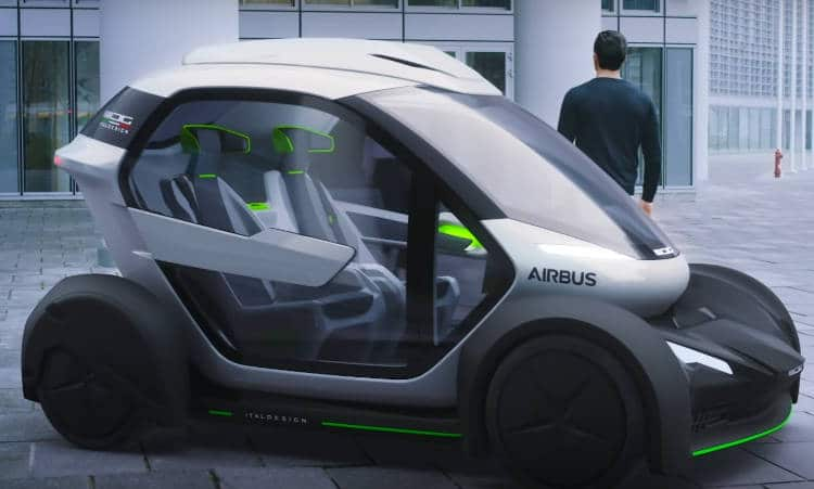 pop up, la voiture volante d'airbus dévoilée au salon de l'automobile