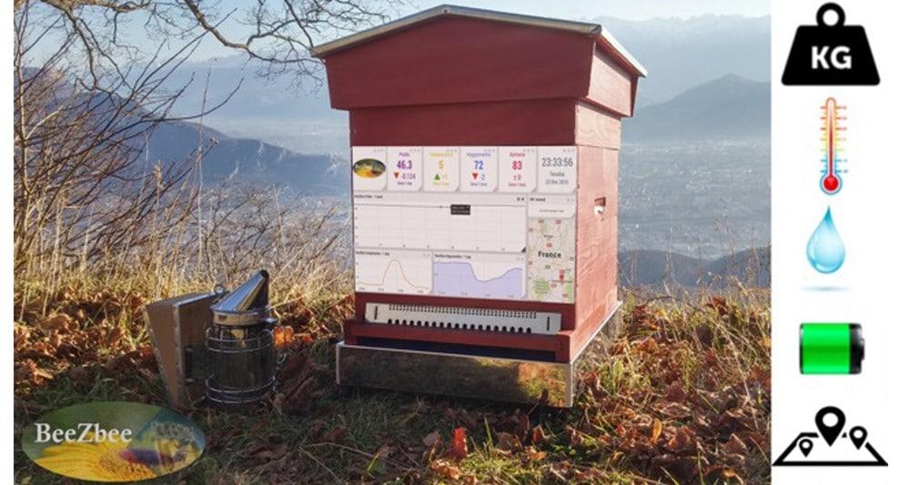Pour sauver les abeilles, installez une ruche connectée dans votre jardin!