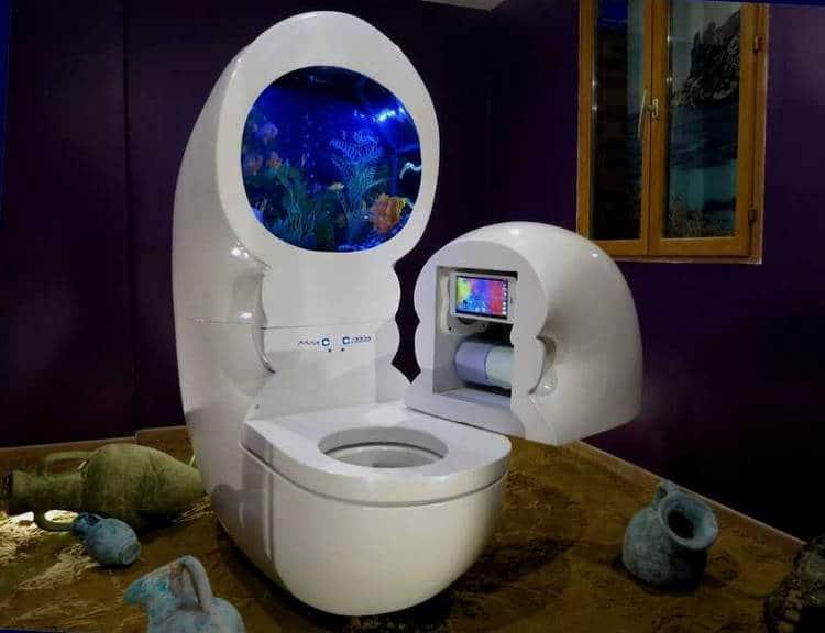 objet connecté WC aquarium objet connecté bipod Un jardin d'intérieur basé sur l'aquaponie avec Grove Labs