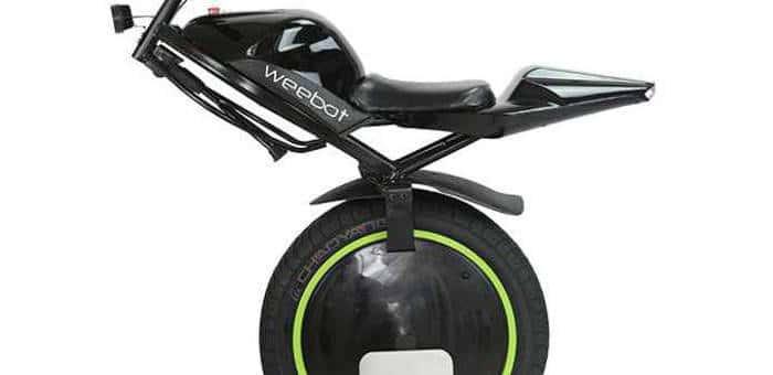 Le scooter du futur s'appelle Weebot