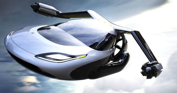 Un véhicule volant hybride pour mixer la route et les airs