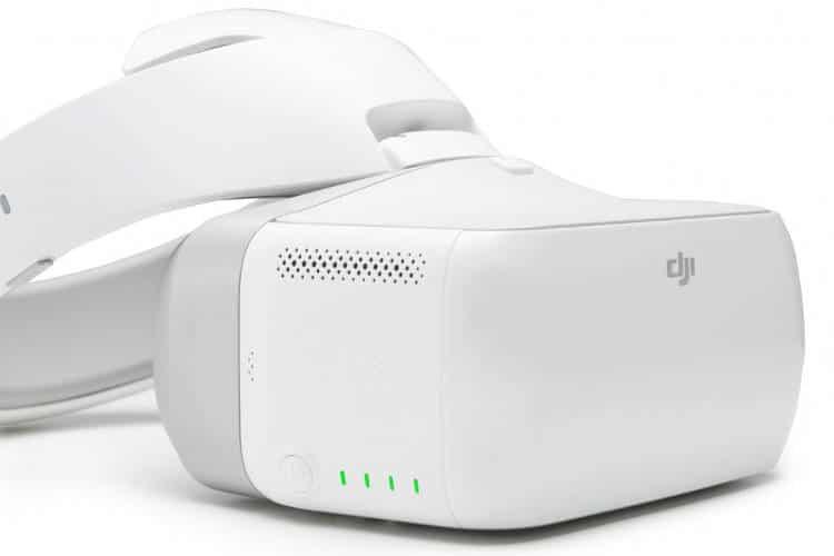 DJI sort Goggles un casque FPV pour contrôler votre drone par les mouvements de votre tête!