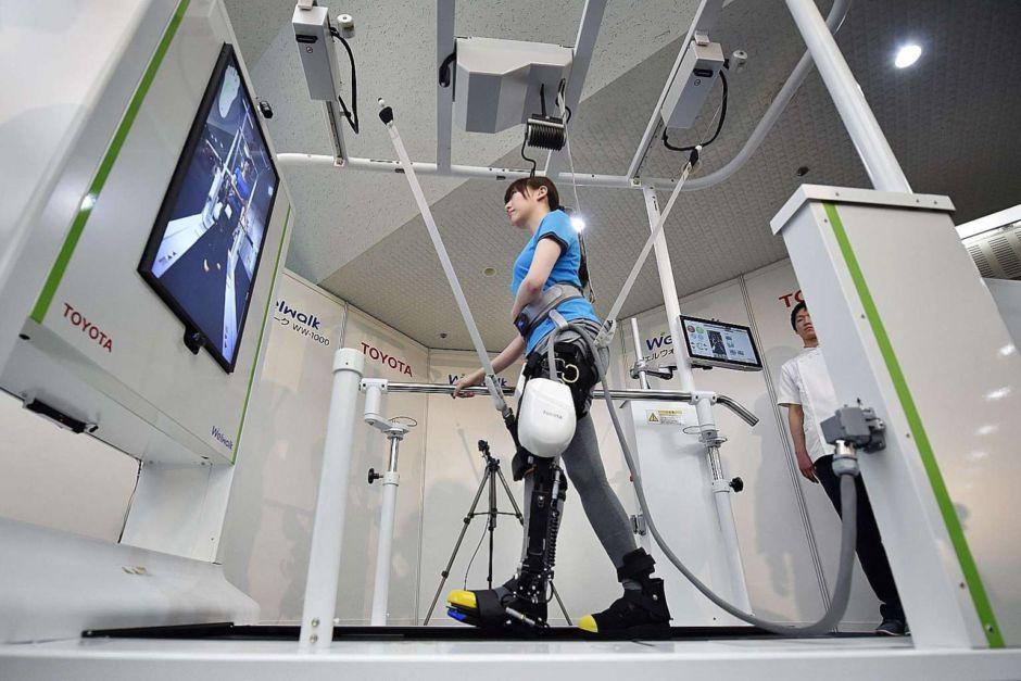 L'exosquelette de Toyota redonne la marche aux personnes paralysées