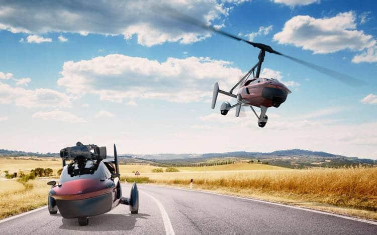 La première voiture volante grand public commercialisée aux Pays-Bas