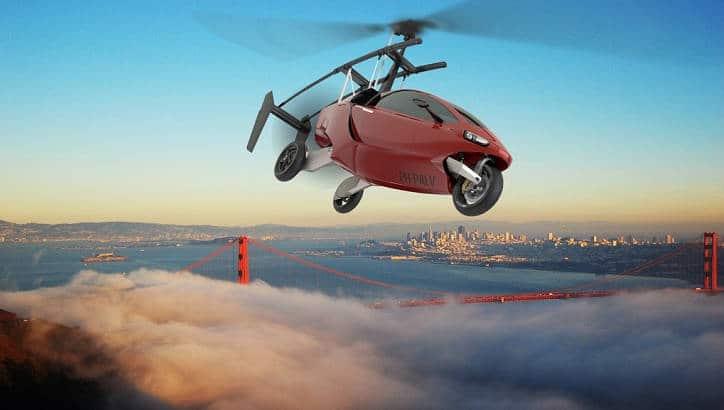 Une voiture volante agile sur terre comme dans les airs