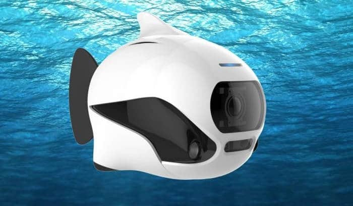 Biki. Un adorable petit drone-poisson
