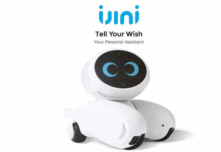 Le robot iJINI patrouille dans votre maison (et vous sert de téléphone !)