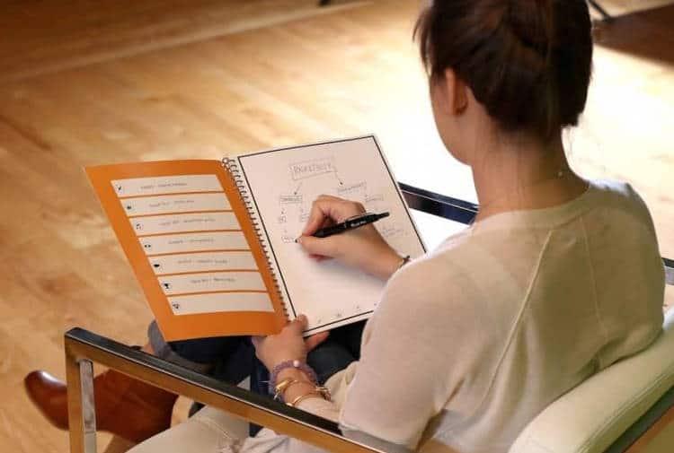 Un carnet connecté pour ne plus perdre ses notes