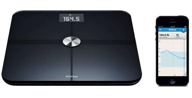Les fonctionnalités du pèse-personne connecté Body de Withings