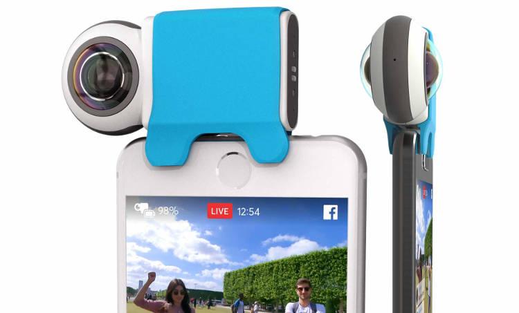 L'accessoire Smartphone pour capturer des images en 360