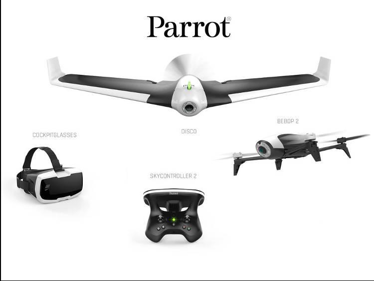 Drone Parrot une bonne idée de cadeau pour Noel !