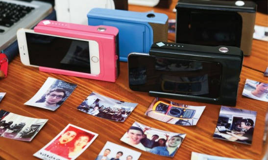 Un Smartphone polaroïd : imprimez vos photos en instantané