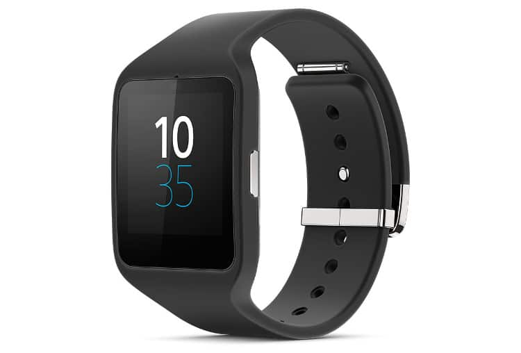 Application de la Smartwatch 3